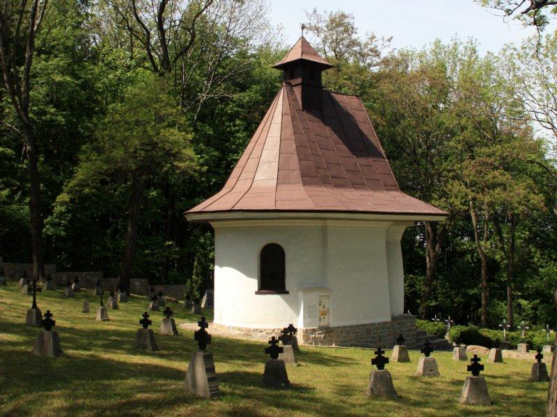Kaplica na cmentarzu nr 171 w Łowczówku, fot. Andrzej Mleczko