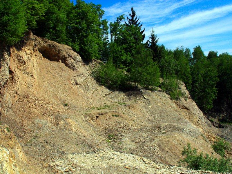 Nieczynny kamieniołom w rejonie Wału, fot. Andrzej Mleczko