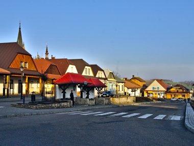 Rynek w Ciężkowicach, fot. Tadeusz Rola