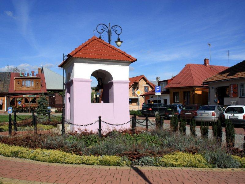 Rynek w Bobowej, fot. Andrzej Mleczko