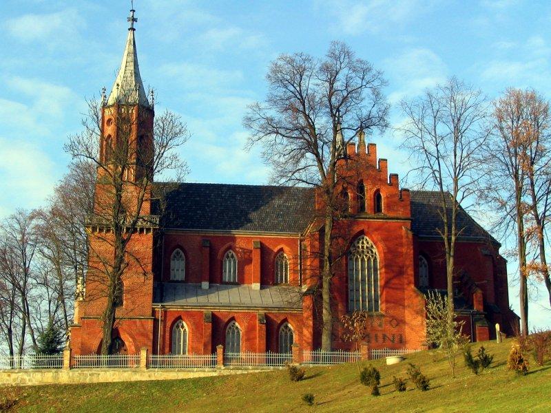 Kościół w Rzepienniku Biskupim, fot. Andrzej Mleczko