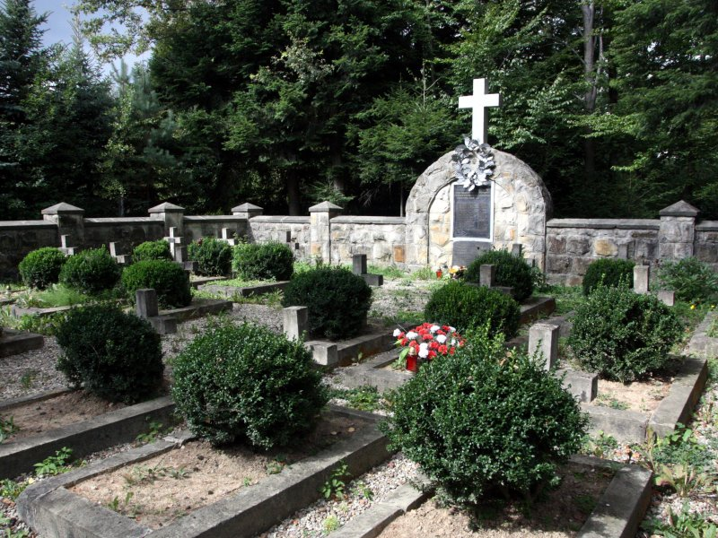 Cmentarz partyzantów AK, fot. Andrzej Mleczko