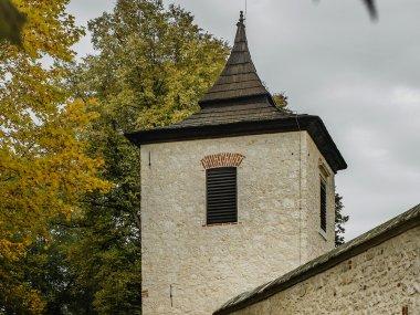 Zabudowania przy kościele św. Benedykta Opata, fot. Natalia Szymonowska