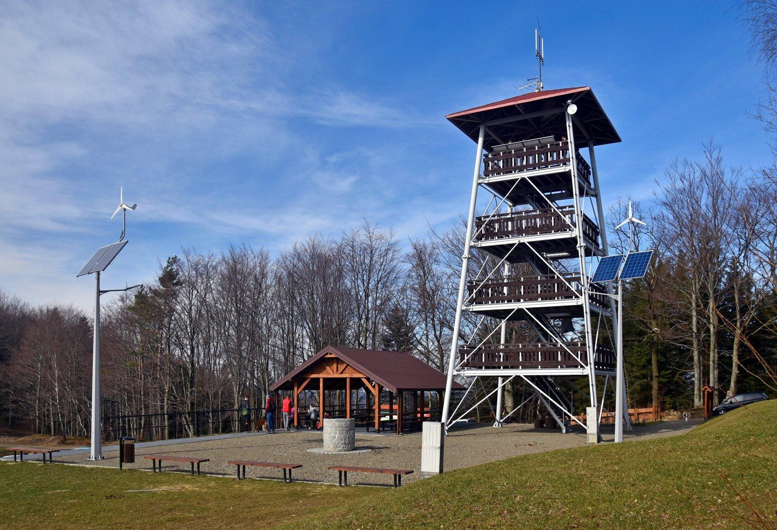 Wieża widokowa pod Brzanką, fot. Henryk Bielamowicz - CC BY-SA 4.0