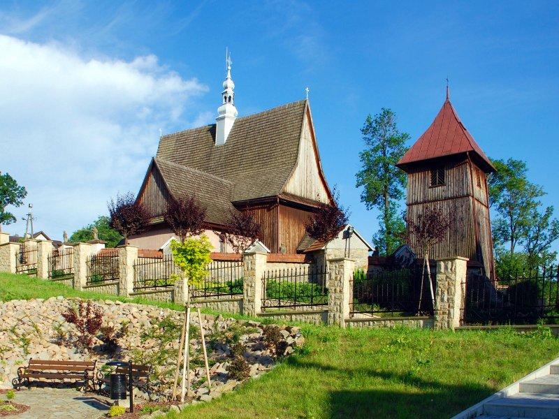 Rajbrot, zabytkowy kościół, fot. Henryk Bielamowicz - CC BY-SA 4.0