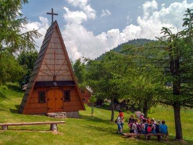 Kaplica Podwyższenia Krzyża Świętego na Przegibku, fot. Radosław Szczepanek