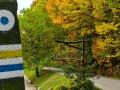 Piotrkowice, początek szlaku jesienią, fot. Tadeusz Rola