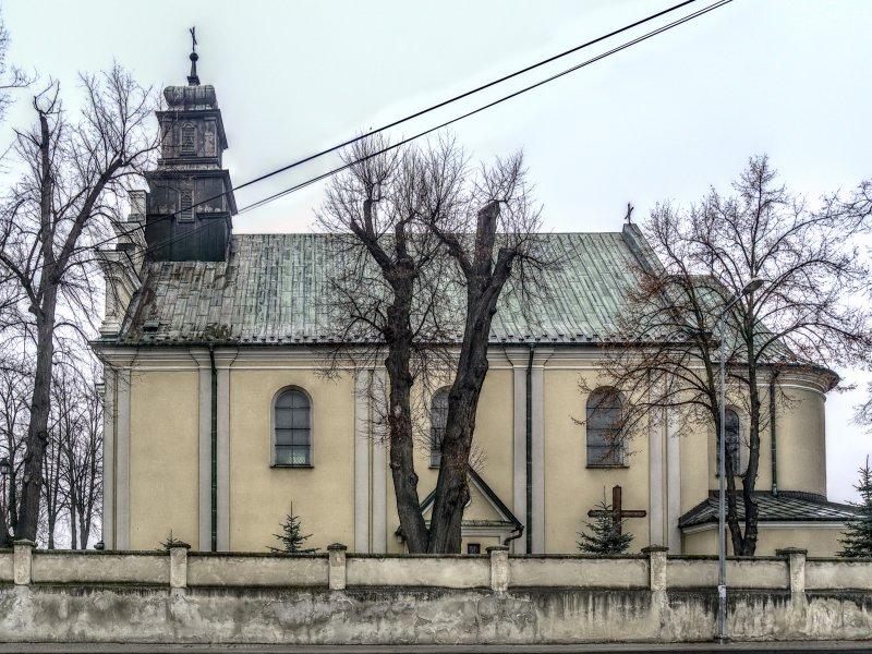 Kościół MP Pocieszenia w Wierzchosławicach, fot. Tadeusz Rola