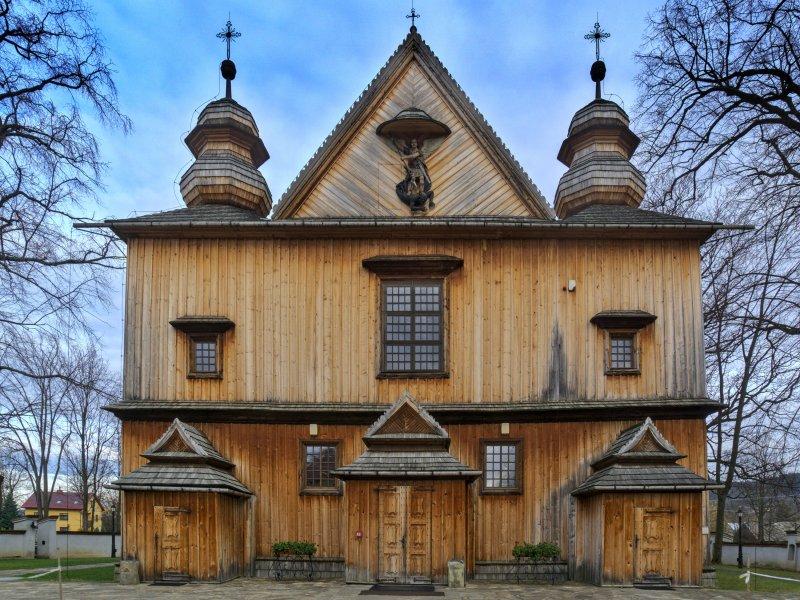 Kościół św. Michała Archanioła w Łużnej, fot. Tadeusz Rola
