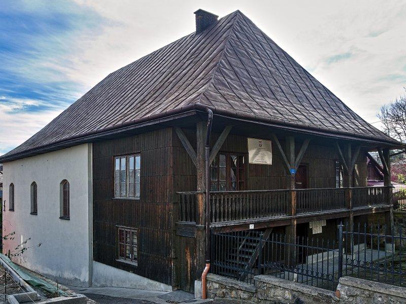 Synagoga w Bobowej, fot. Tadeusz Rola
