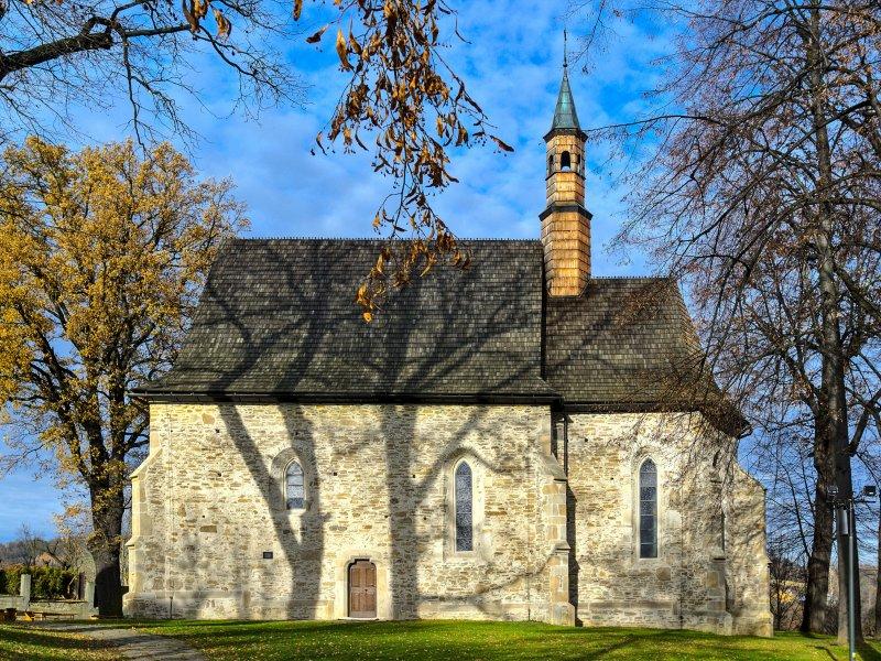 Kościół św. Zofii w Bobowej, fot. Tadeusz Rola