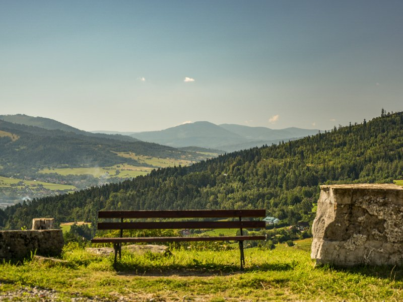Widok z Matyski w kierunku Pasma Wielkiej Raczy, fot. Radosław Szczepanek