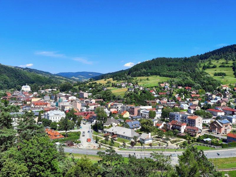 Panorama Muszyny, fot. Agnieszka Cygan