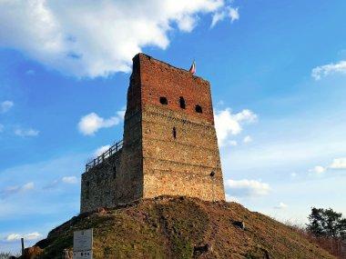 Pozostałości wieży zamkowej w Melsztynie, fot. Agnieszka Cygan
