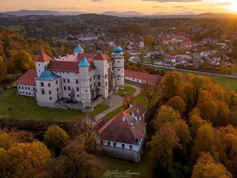Zamek w Nowym Wiśniczu, fot.  Wiktor Baron Fotografia