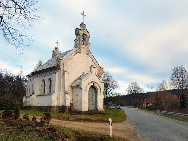Zabytkowa kaplica św. Jana Chrzciciela w Woli Niżnej  z 1902 Fot. Jacek Dziwisz