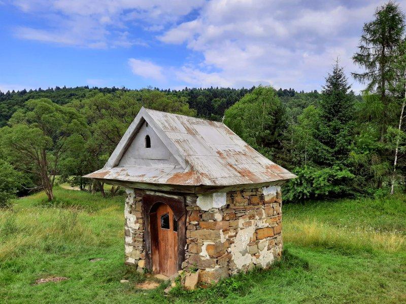 Kapliczka przydrożna w Czarnem, fot. Agnieszka Cygan
