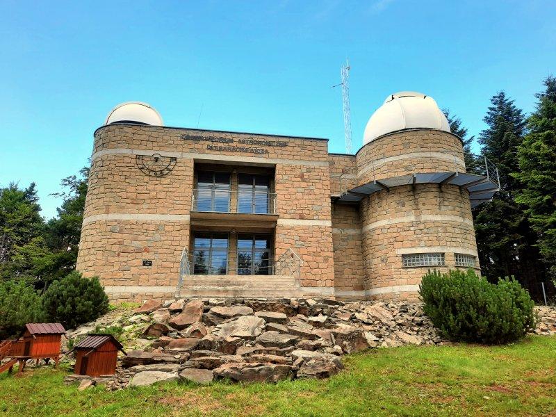 Obserwatorium astronomiczne na Lubomirze, fot. Agnieszka Cygan